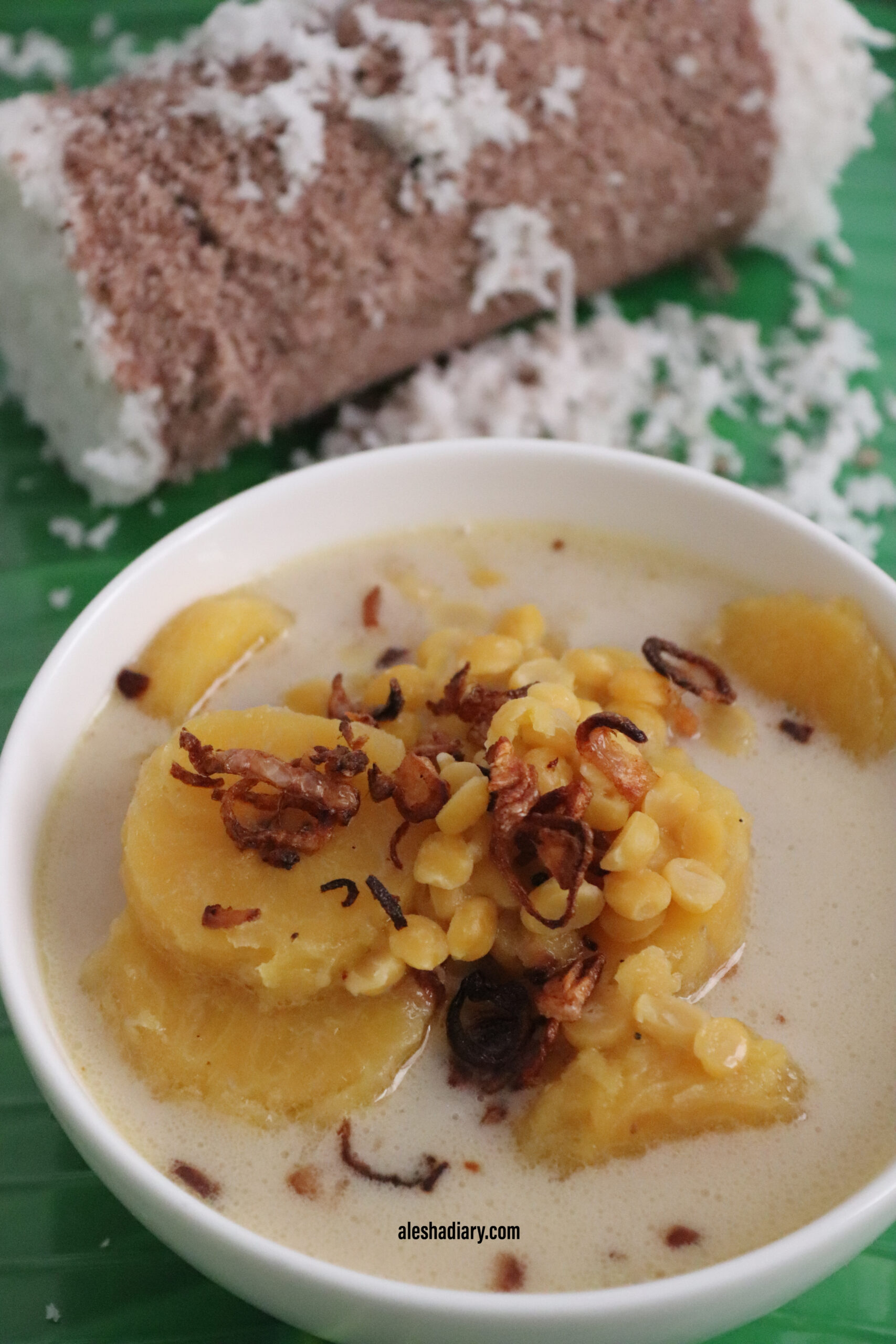 Ethapazham Madhura curry – Nendran banana coconut milk curry