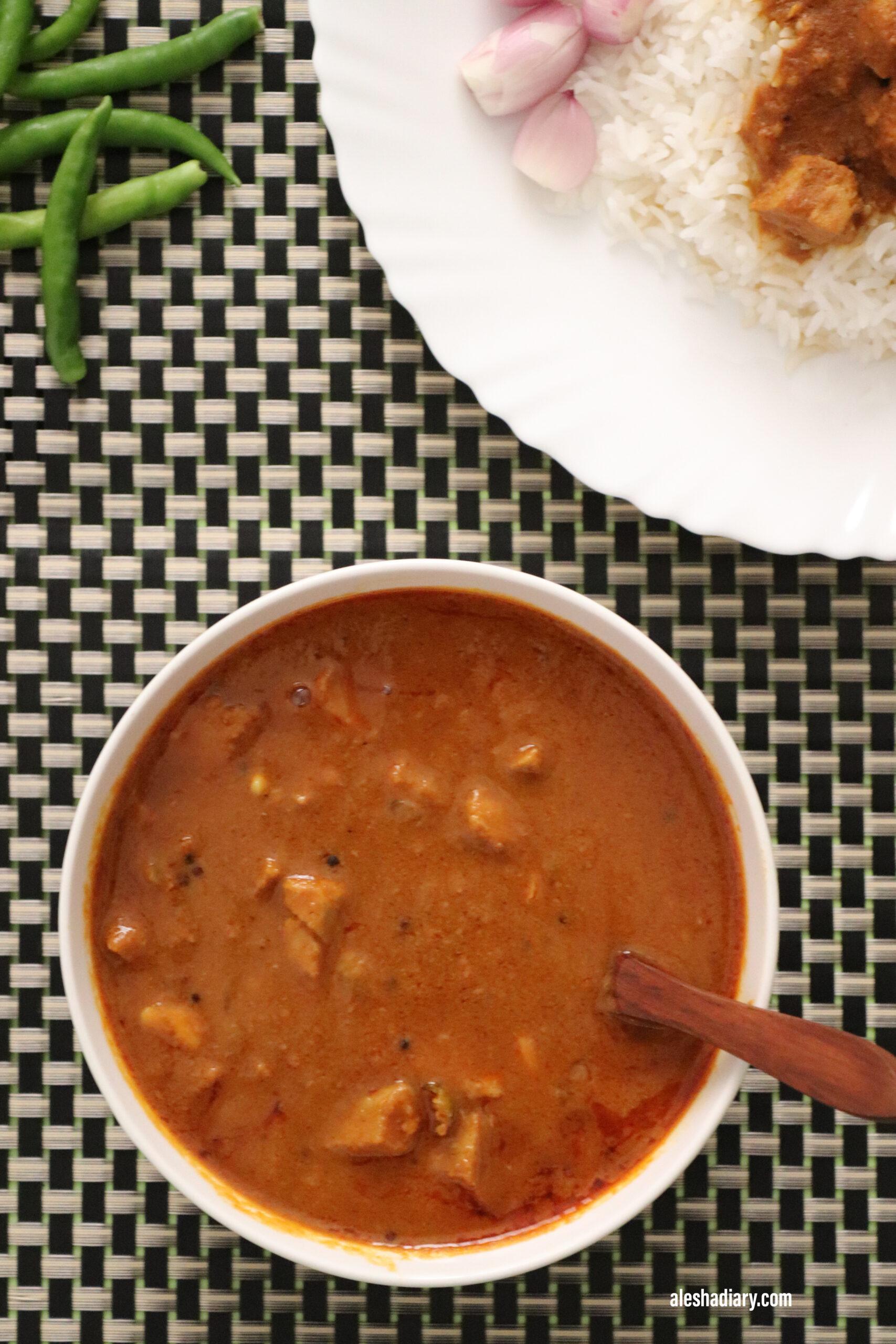 Tuna Fish Curry – Surai Meen Kuzhambu