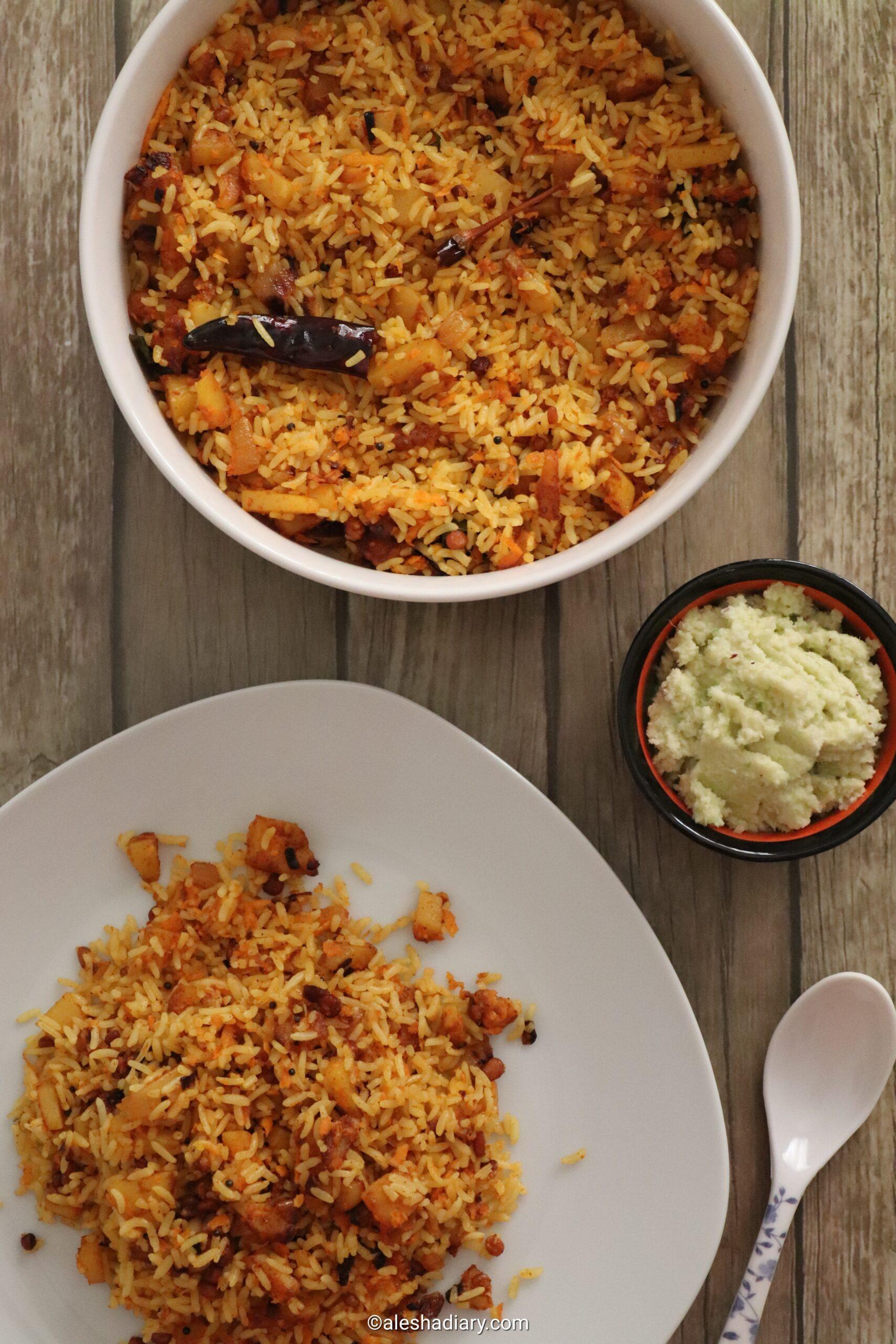 Potato Rice – Urulai Kizhangu Sadam