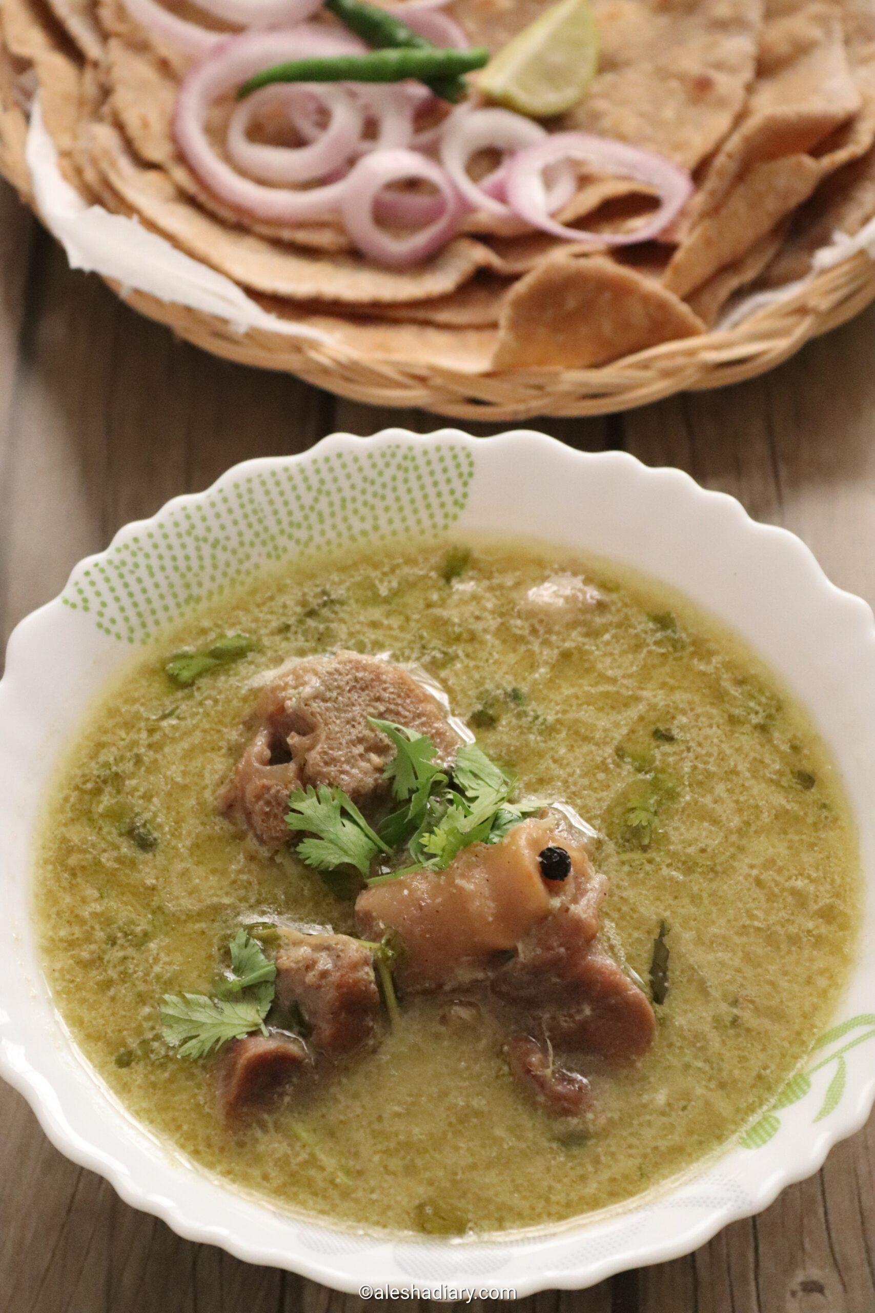 Hyderabadi Mutton Marag