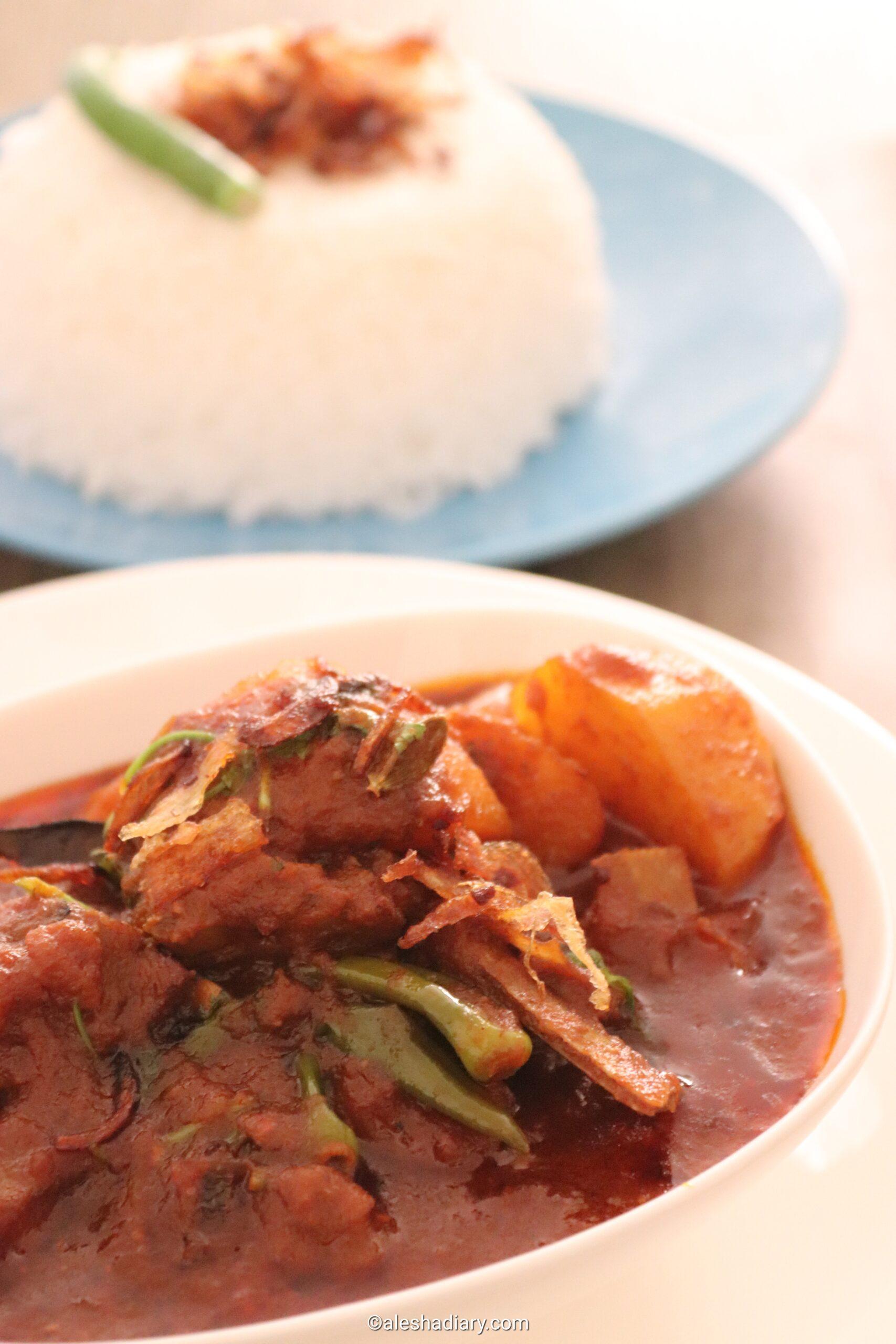 Aloo Gosht – Mutton with Potato