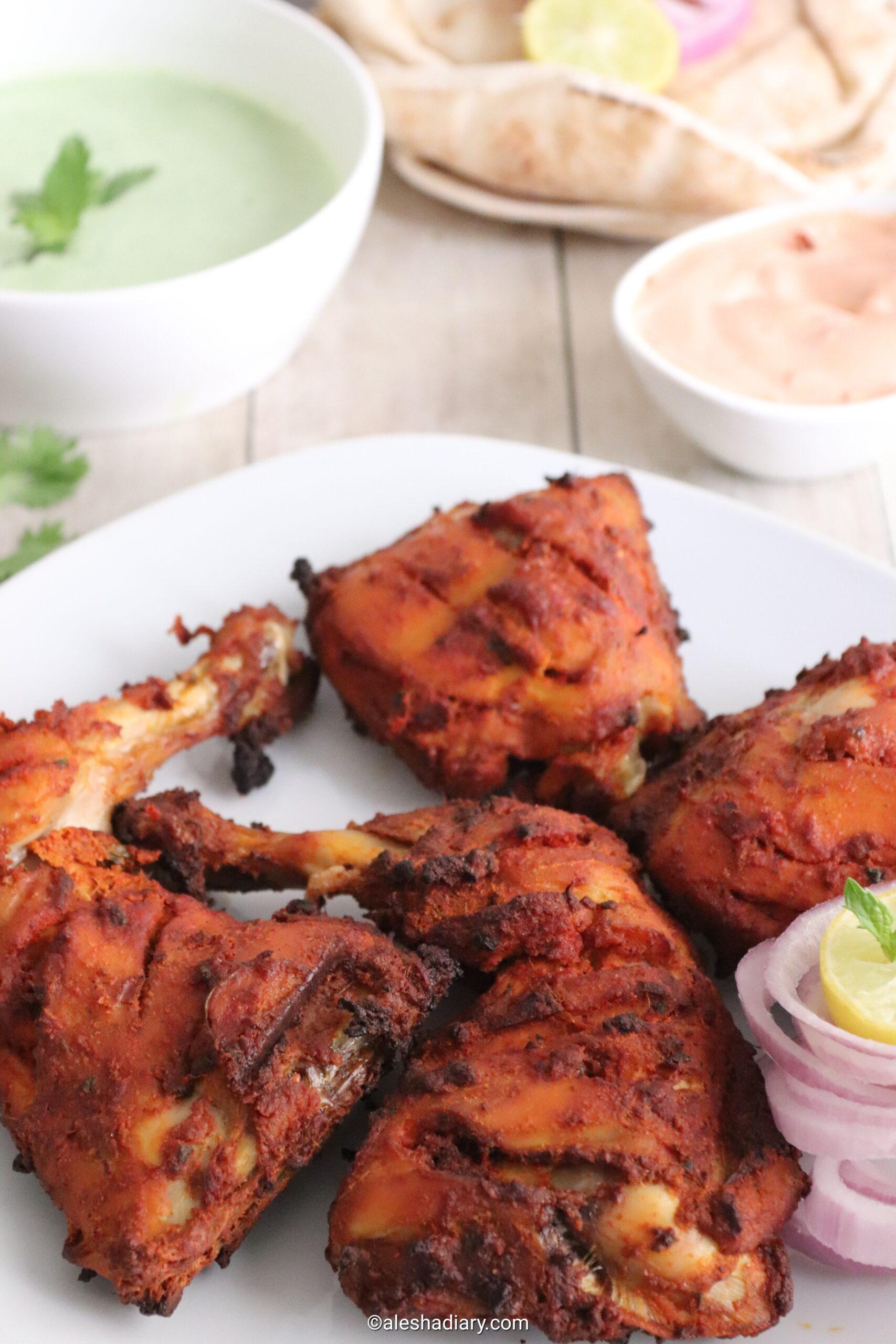 Tandoori Chicken – Tandoori chicken in oven