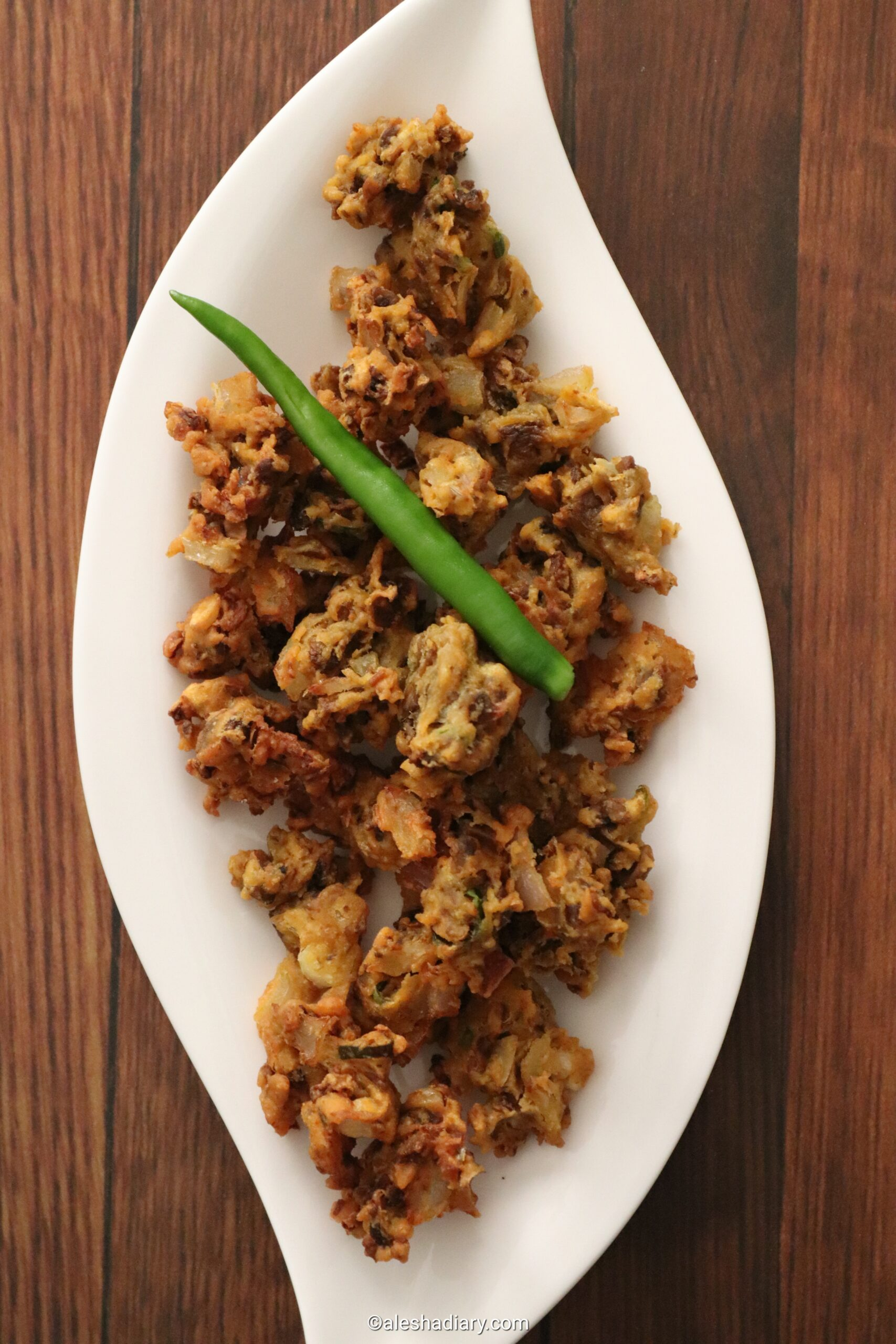 Mushroom Pakora – Mushroom Fritters