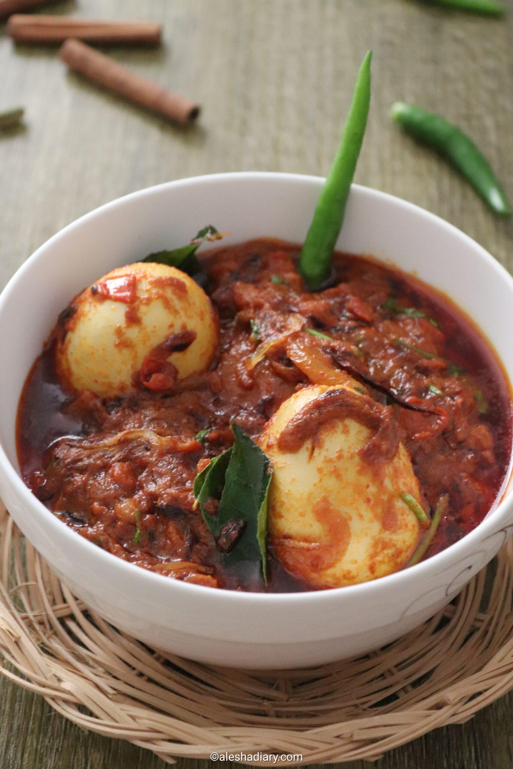 Egg Masala – Muttai masala