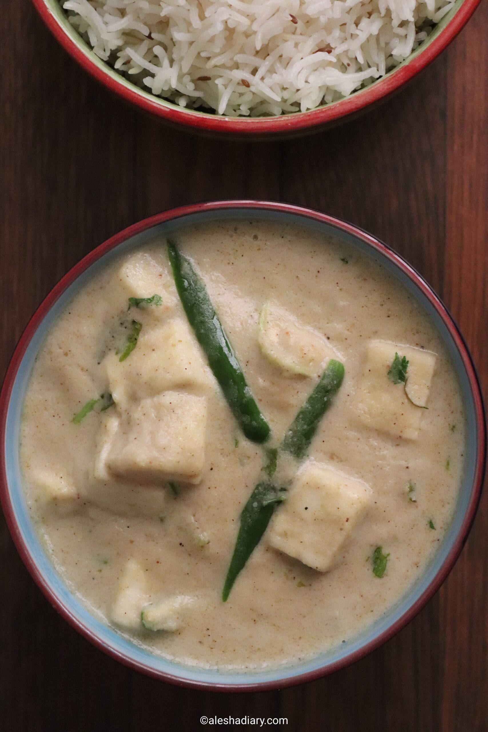 Malai Paneer -Malai Paneer Recipe -Malai Paneer Gravy