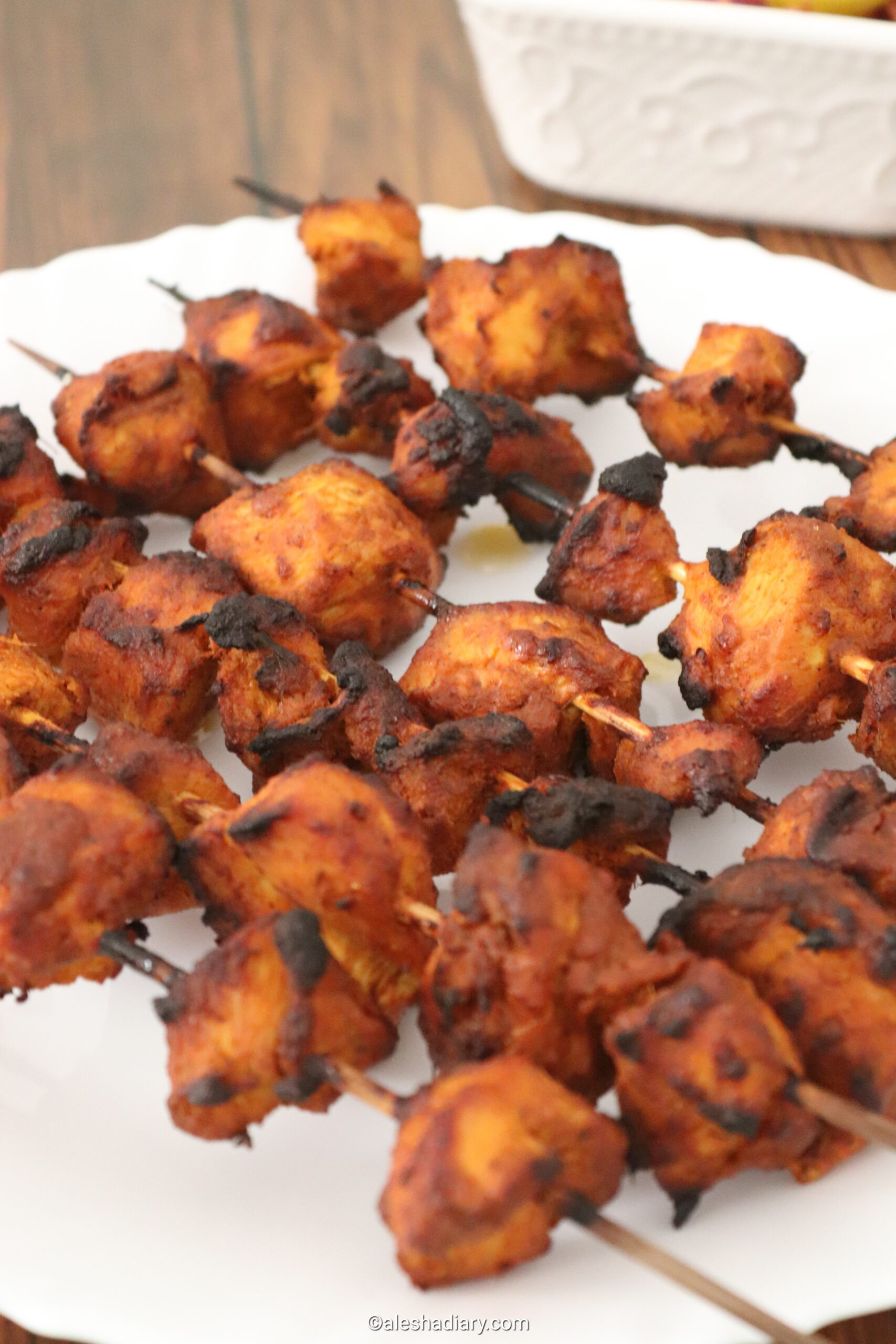 Chicken tikka- Chicken tikka in oven