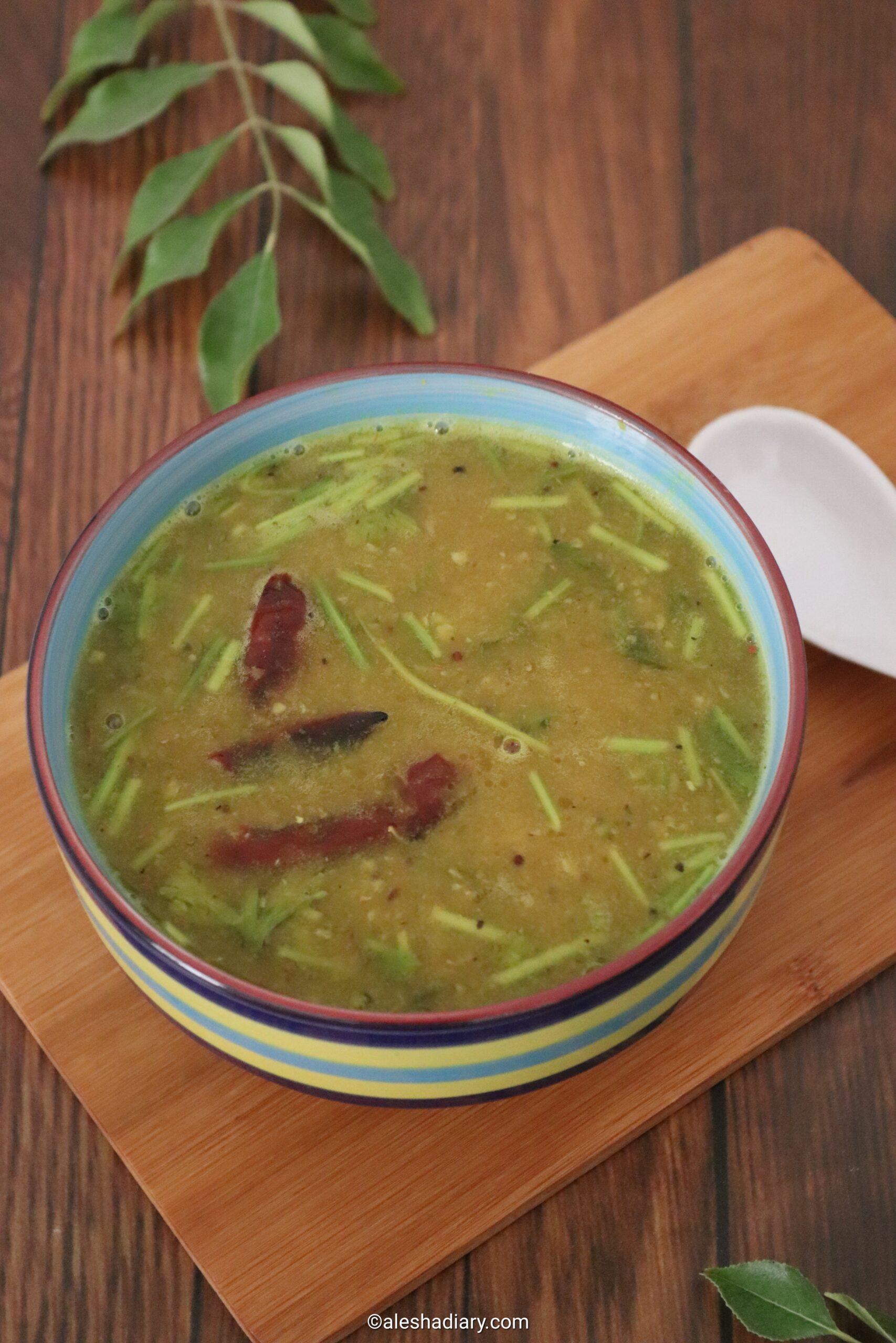 Raw mango Rasam – Mangai rasam