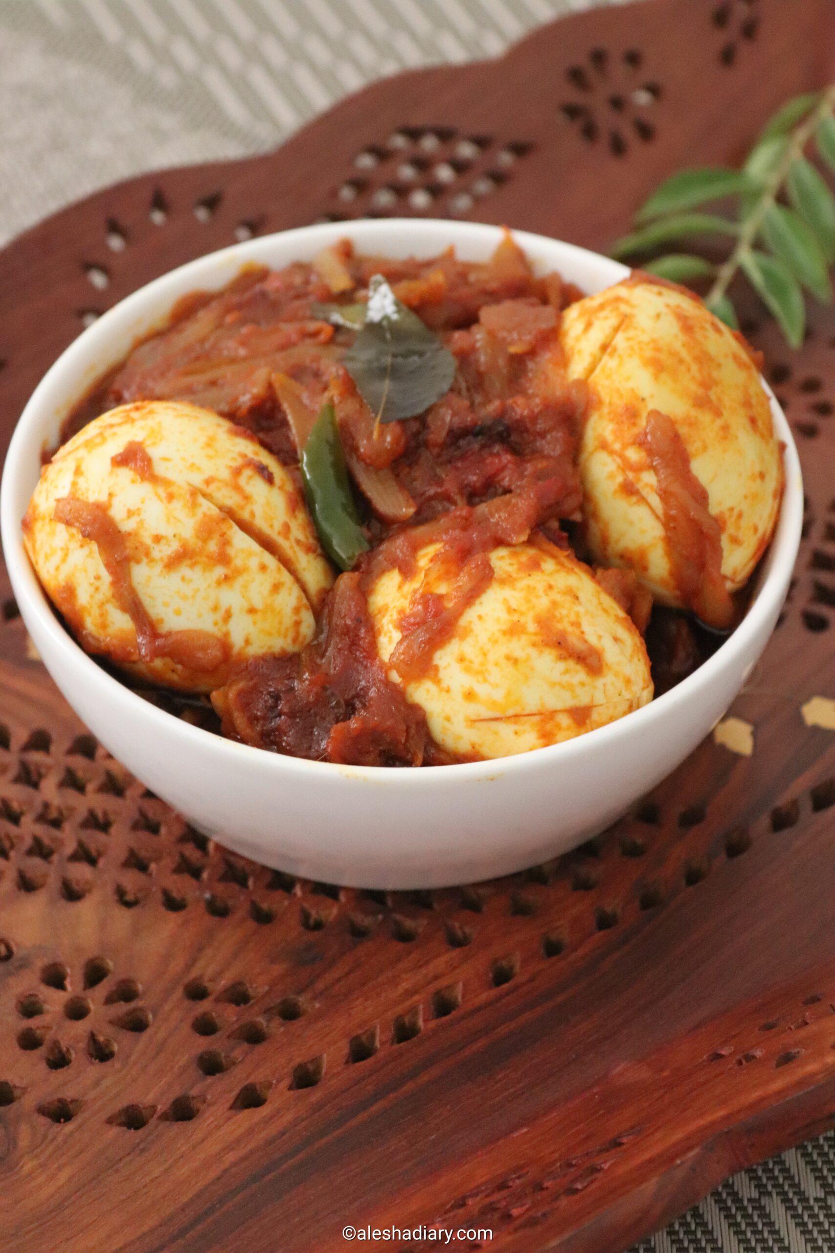 Egg Roast – Kerala Style Egg Roast – Nadan Mutta Roast