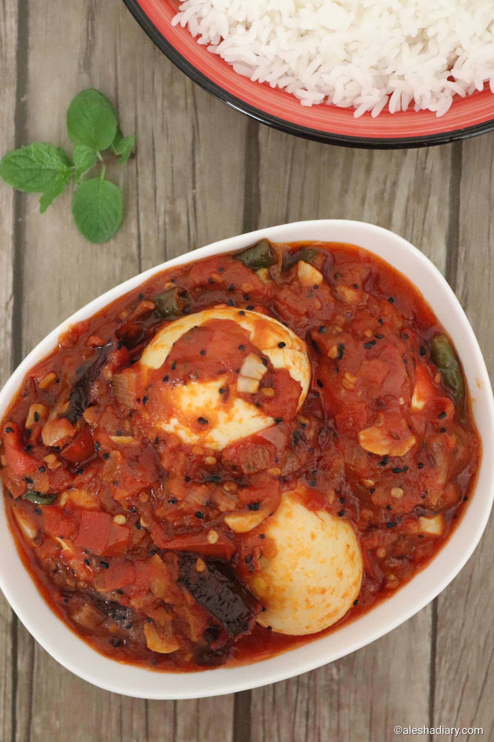 Egg Tomato curry