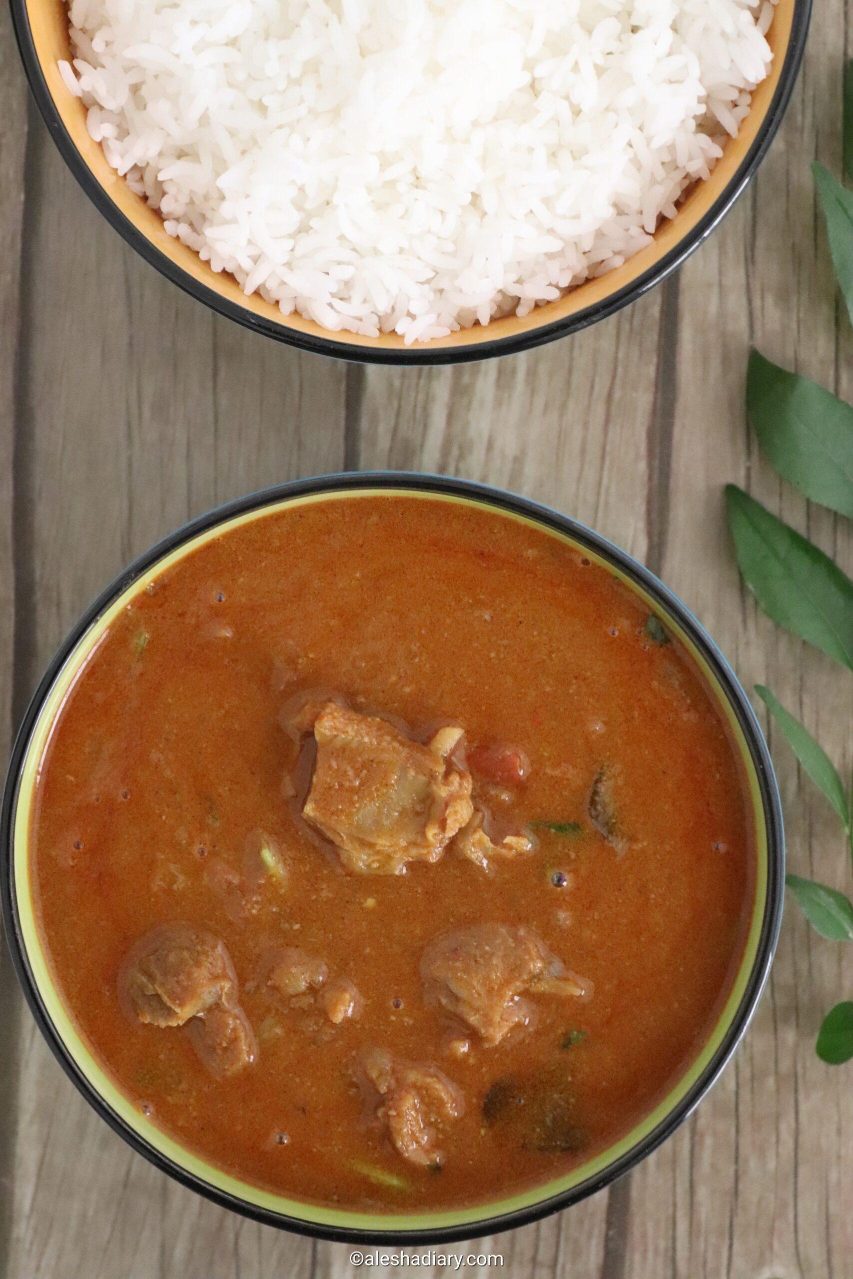 Chettinad Mutton Curry