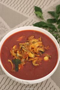 Netholi Mulaku curry – Kerala Netholi meen curry – Anchovies fish curry