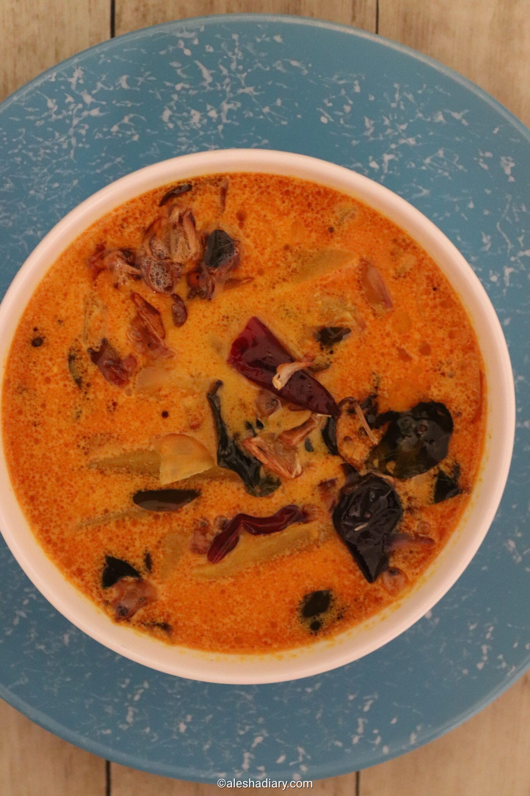 Raw mango curry – Raw mango coconut milk curry