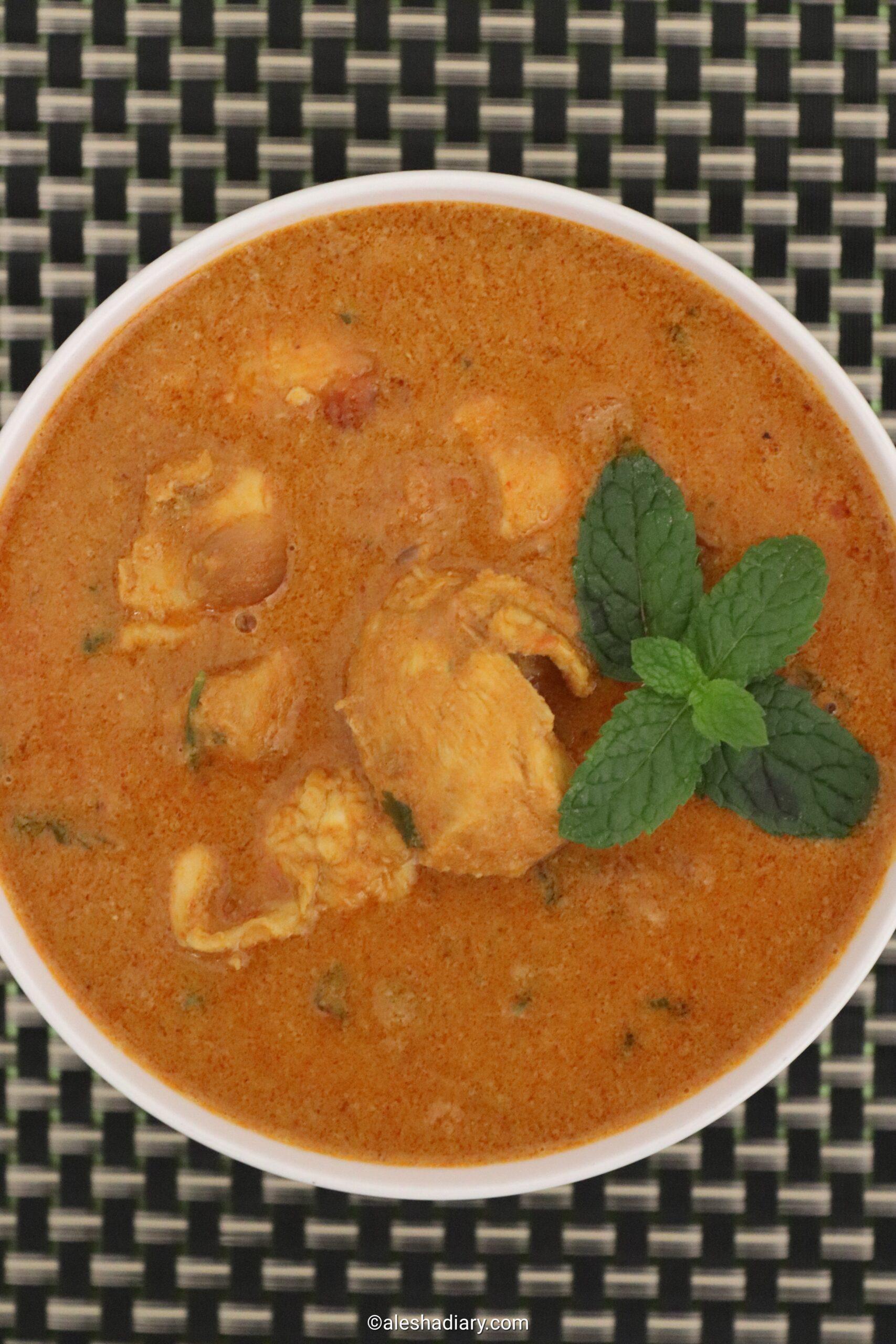 Chicken Kuzhambu – Chicken curry