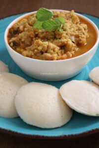 Vada curry – Vada curry for Idli , Dosa