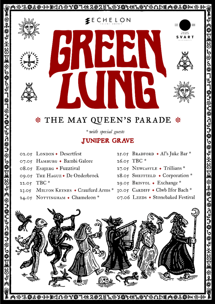 Green Lung Sign With Svart Records And Announce Tour