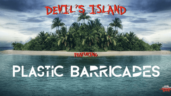 Devils Island Plastic Barricades