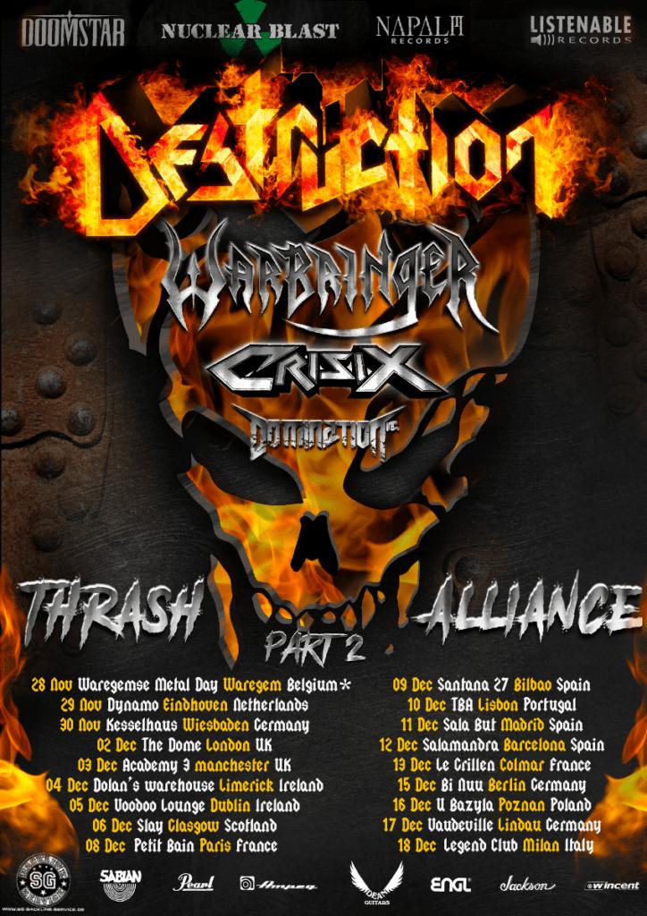 Destruction 2020 Tour