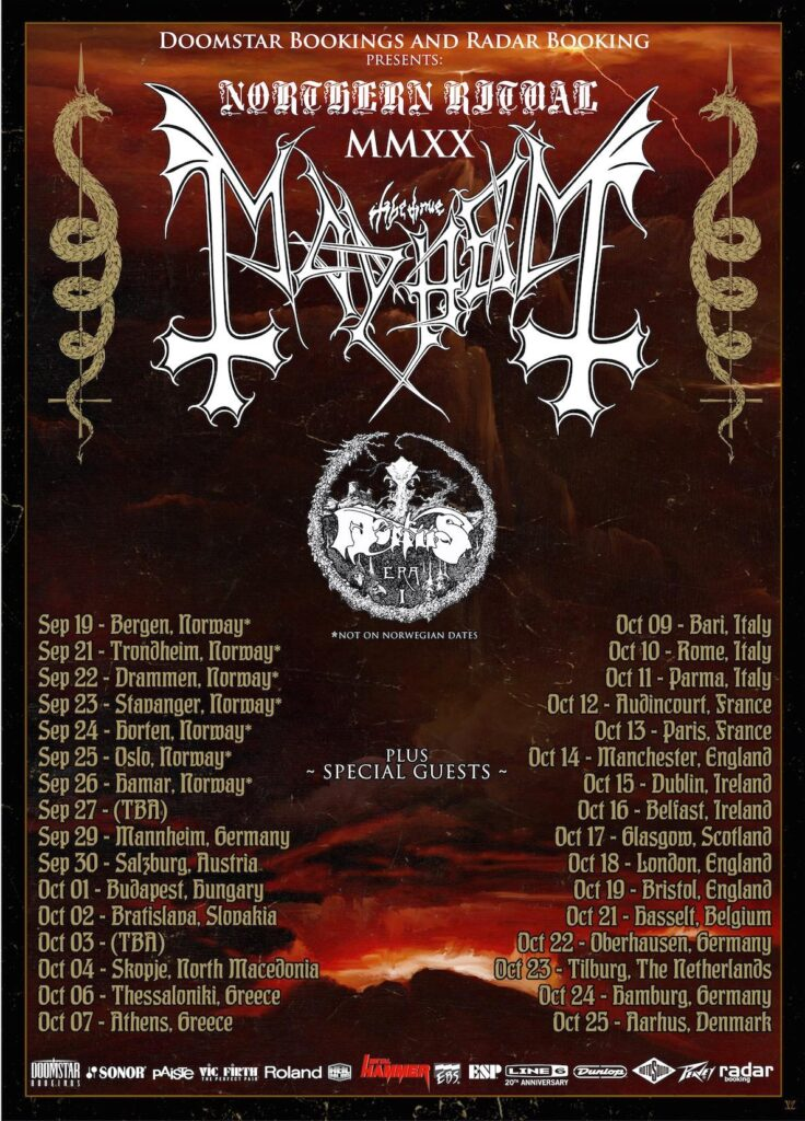 Mortiis Tour