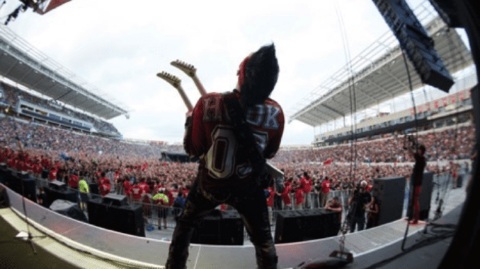 Five Finger Death Punch Confirm Line Up Change