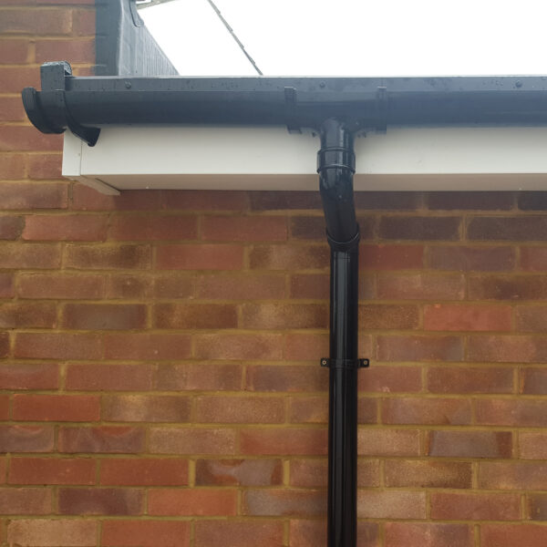 New fashia's, soffits and guttering.