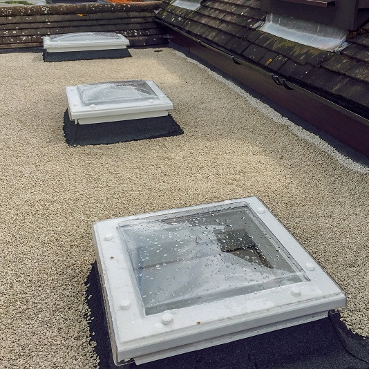 Roofing Replacement roof lights project Benjamin James Roofing
