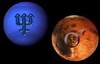 Mars Uranüs Kavuşumu