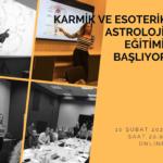 Karmik ve Estorerik Astroloji Dersleri Başlıyor