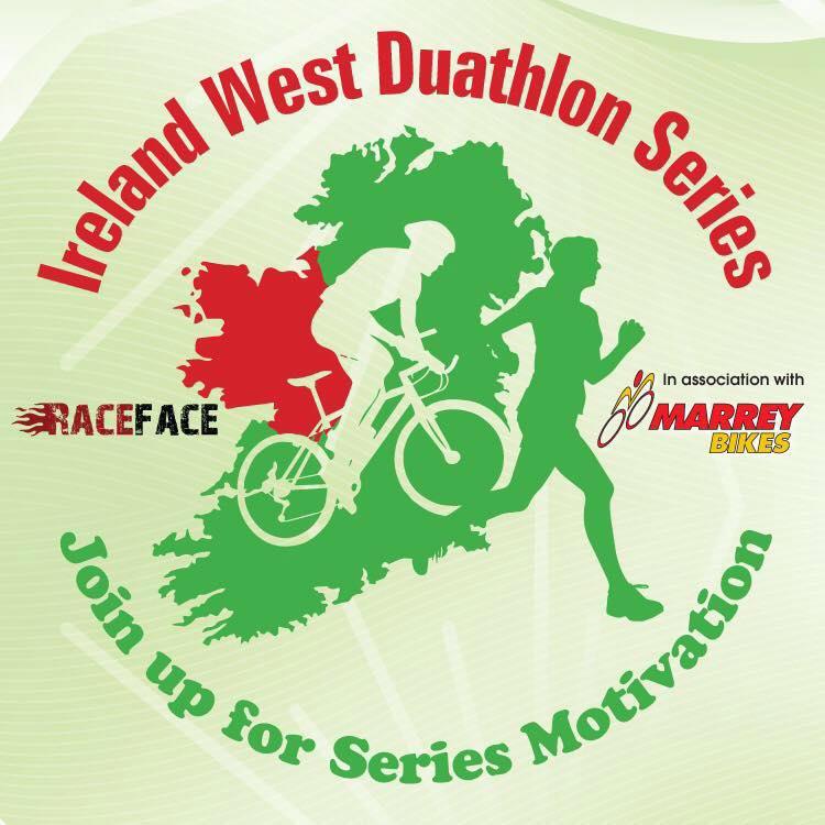 Ireland West Duathlon Series Logo