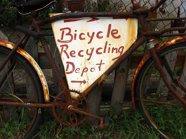Secondhand bicycle picture