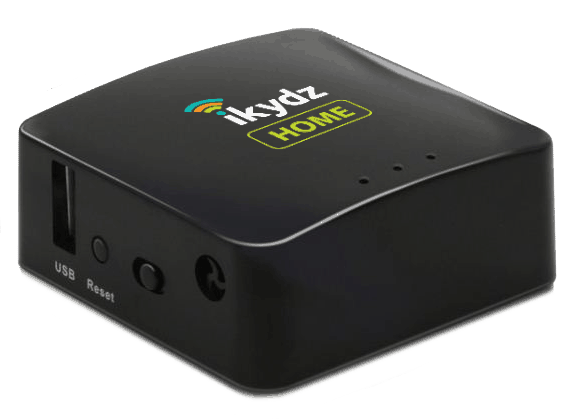 ikydz review. This is an image of an iKydz Home device