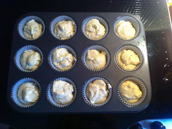 impasto cupcake Elvis pronto per il forno