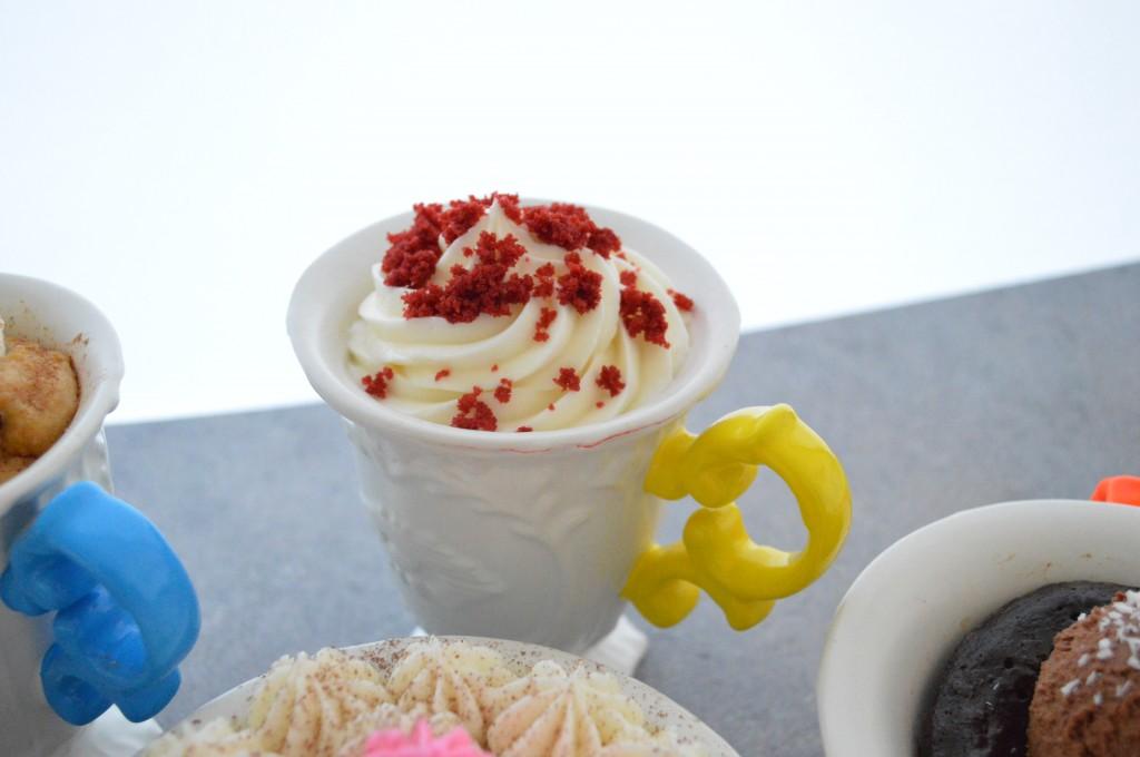 """""""Cupcake"""" al microonde Red Velvet"""