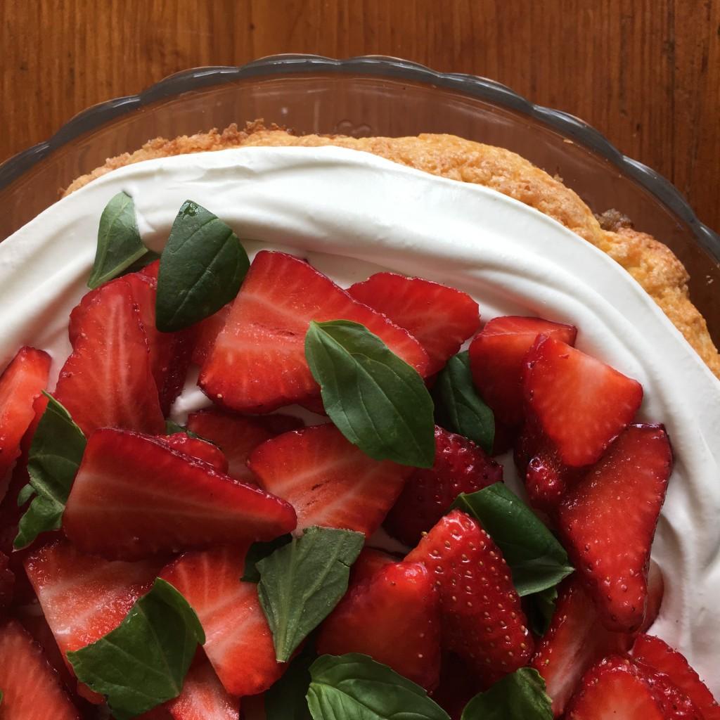 Shortcake alle Fragole e Basilico