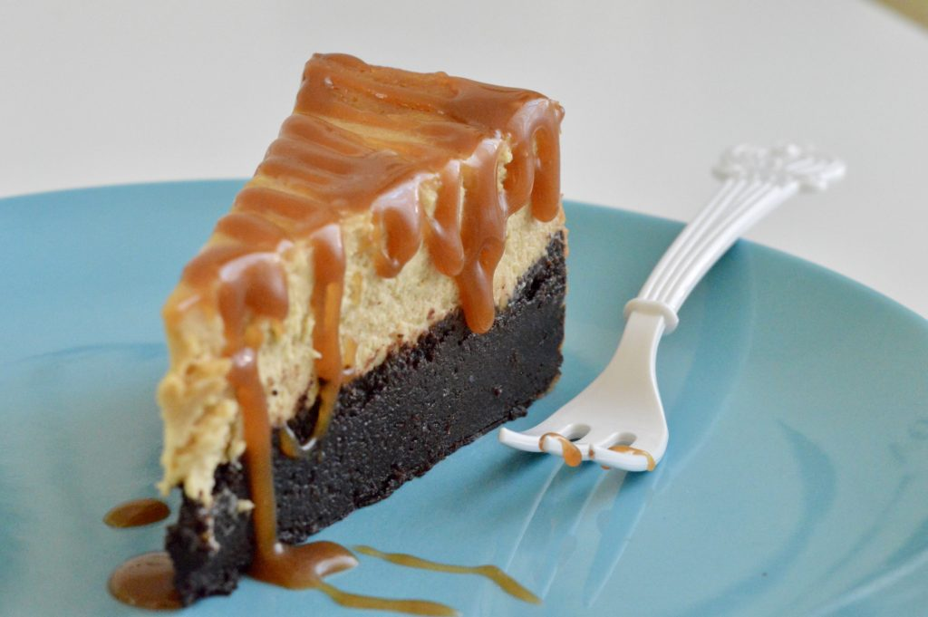 Brownie Cheesecake al Caramello