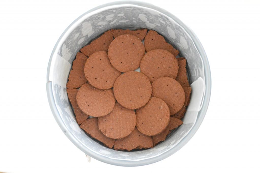 Torta al cioccolato fredda