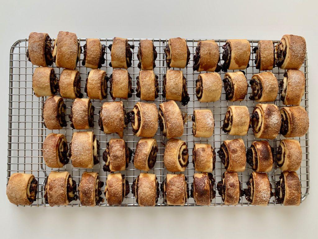 Rugelach (girelle alla fragola e cioccolato)