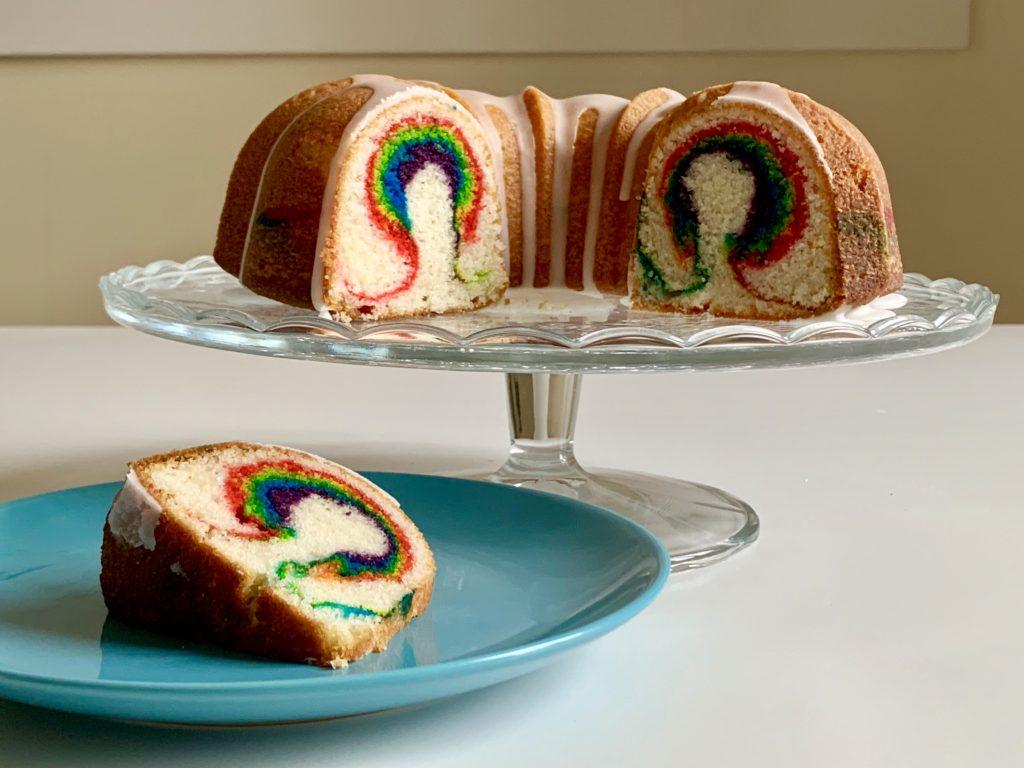 Bundt cake unicorno