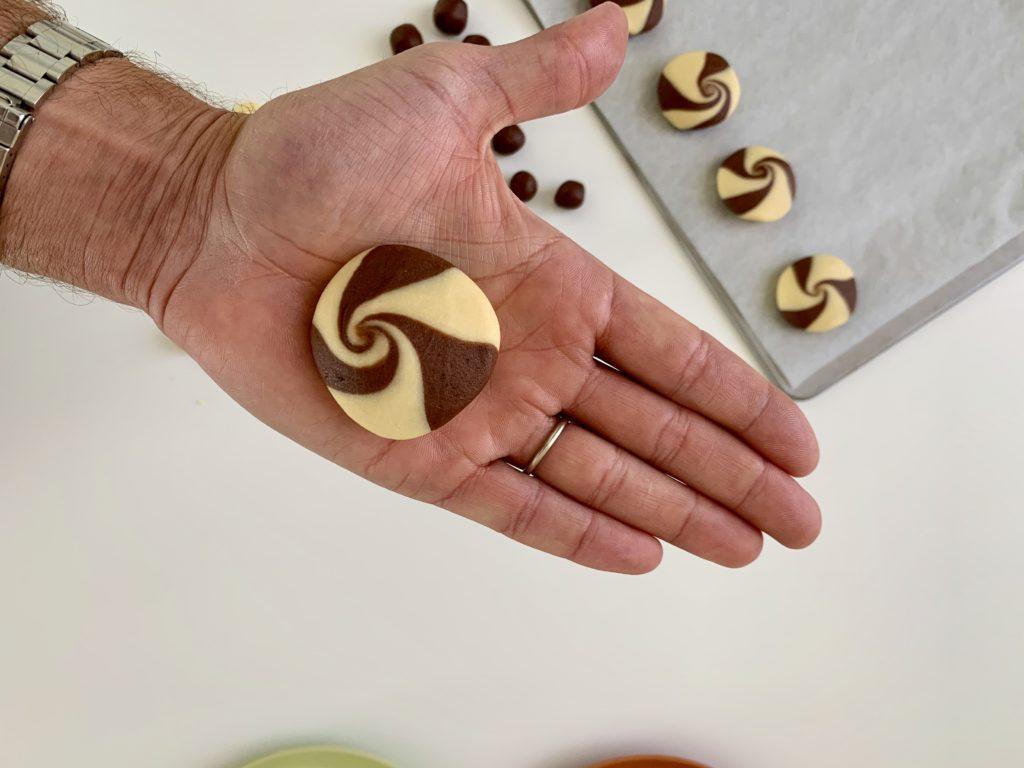 Cookies alla vaniglia e cioccolato