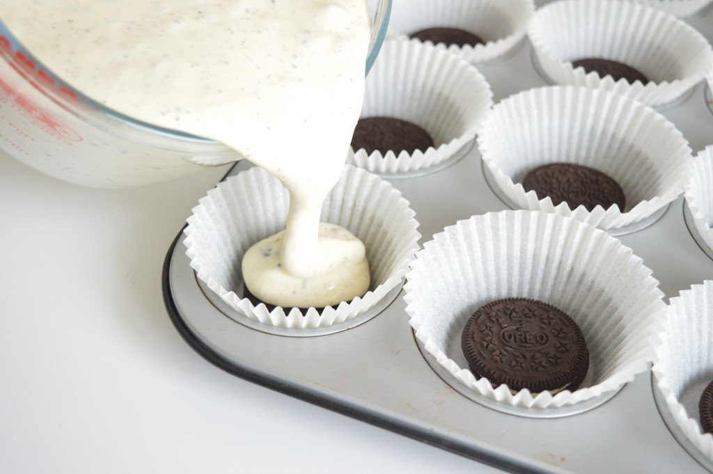 Mini-cheesecake Oreo