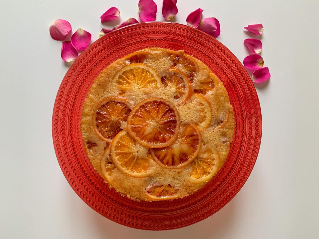 Torta capovolta all'arancia