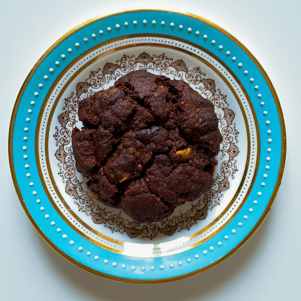 Cookies americani al doppio cioccolato