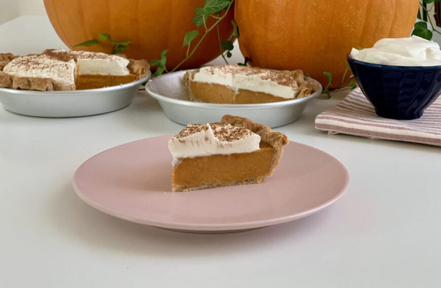 Pumpkin Pie – Crostata di zucca