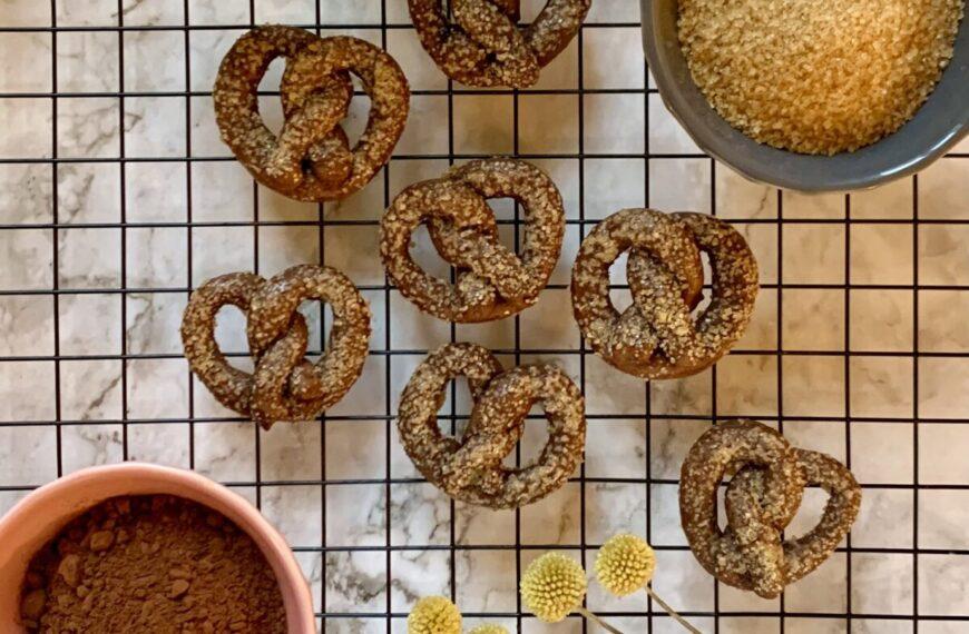 Pretzel Cookies al cioccolato