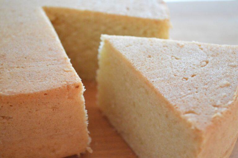 Pan di spagna vegano