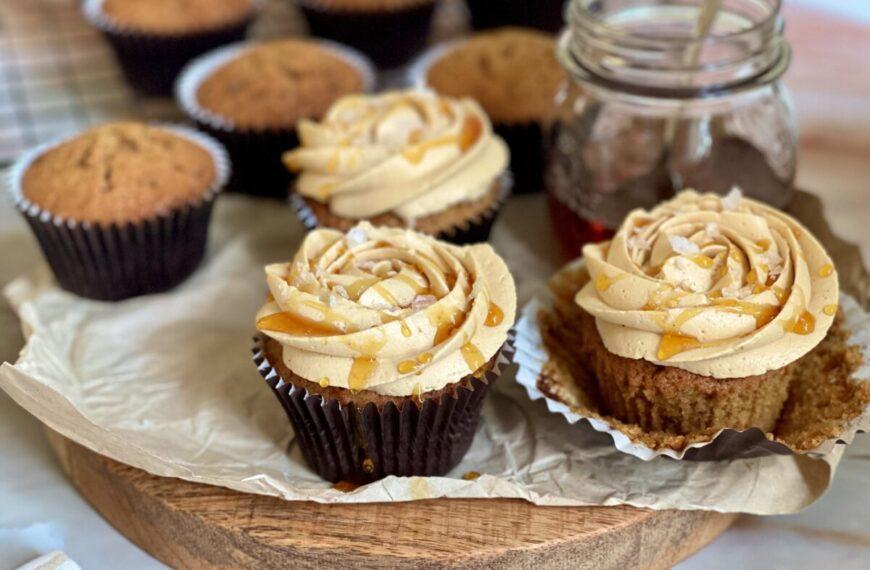 Cupcake al triplo caramello