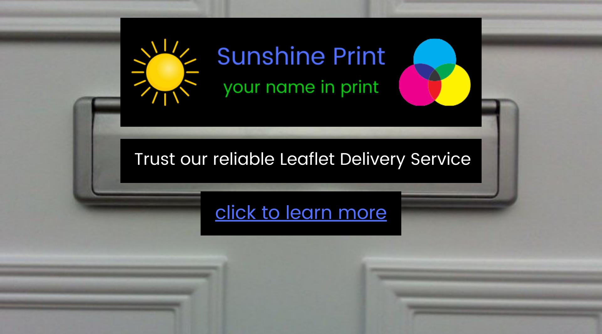 SP Leaflet Delivery Service