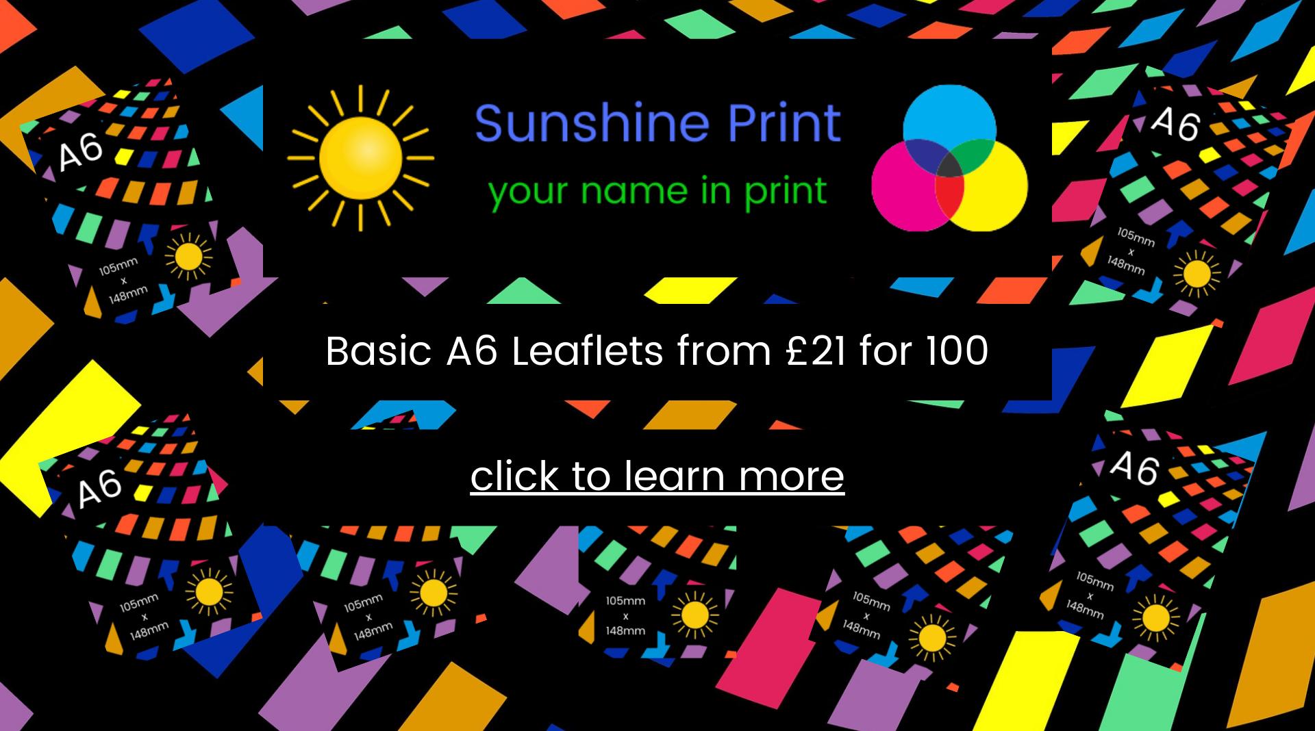 SP Basic Leaflets banner