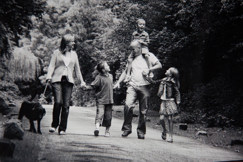 family photo shoot yorkshire