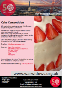 50th Year Cake Competition