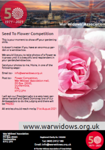 50th Year Flower Competition